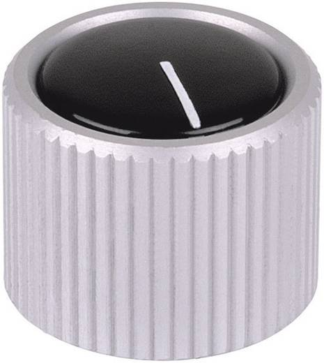 Mentor MESSGER.KNOEPFE Draaiknop Aluminium (geëloxeerd) (Ø x h) 12 mm x 15 mm 1 stuks