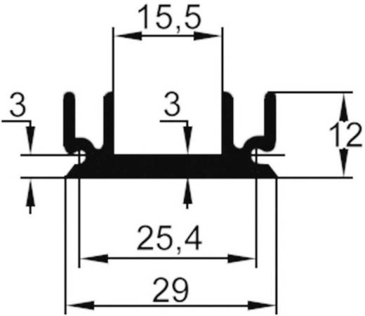 Strengkoellichaam 9 K/W (l x b x h) 25 x 29 x 12 mm