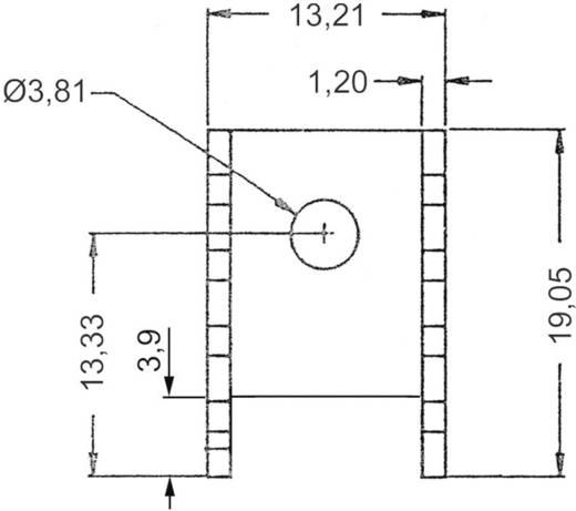 Koellichaam 24 K/W (l x b x h) 19.05 x 13.21 x 9.53 mm