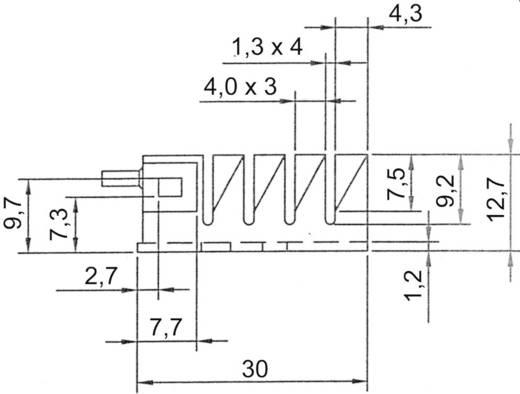 Koellichaam 20 K/W (l x b x h) 30 x 25.4 x 12.7 mm TO-220 ASSMANN WSW V8502A