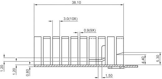 Koellichaam 16 K/W (l x b x h) 38.1 x 12.8 x 12.7 mm TO-220 ASSMANN WSW V8508D