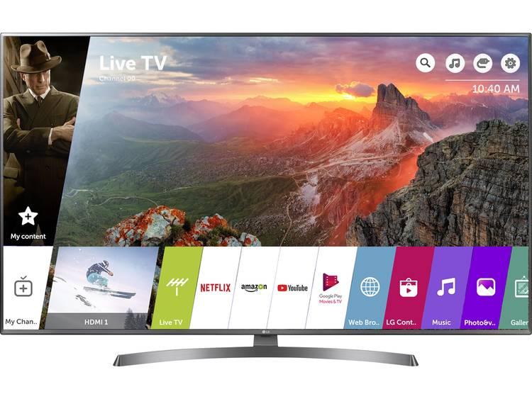 LG Electronics 55UK6750 LED-TV 139 cm 55 inch Energielabel: A+ (A++ – E) DVB-T2, DVB-C, DVB-S, UHD, Smart TV, WiFi, PVR ready Zwart