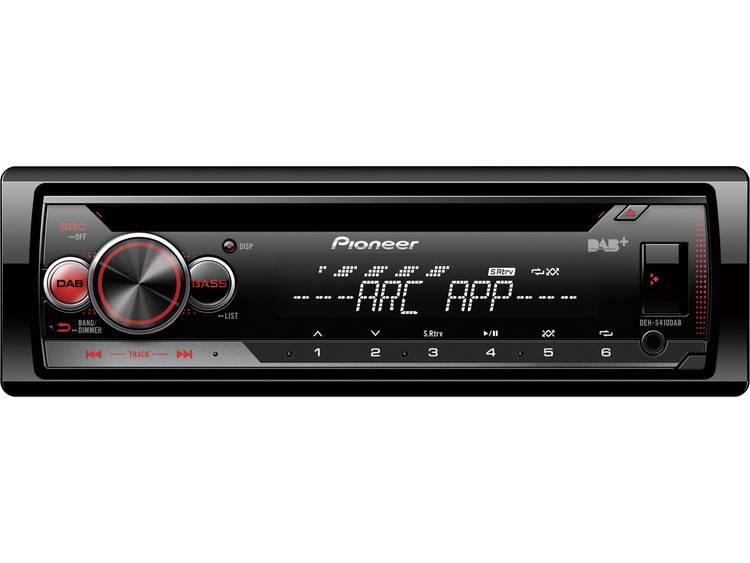 Pioneer DEH-S410DAB CD-MP3-Autoradio met DAB-USB-iPod-AUX-IN