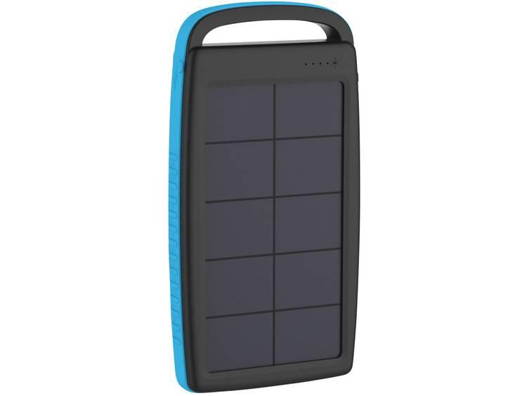 Solarlader Xlayer Powerbank Plus 215775 Laadstroom zonnecel 250 mA Capaciteit 20000 mAh
