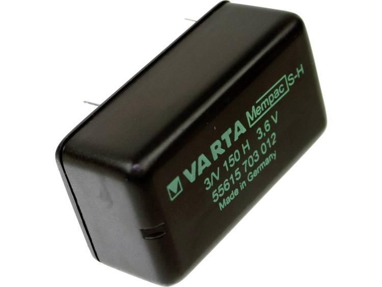 Varta Mempac 3/V150H Oplaadbare knoopcel Mempec NiMH 150 mAh 3.6 V 1 stuk(s)