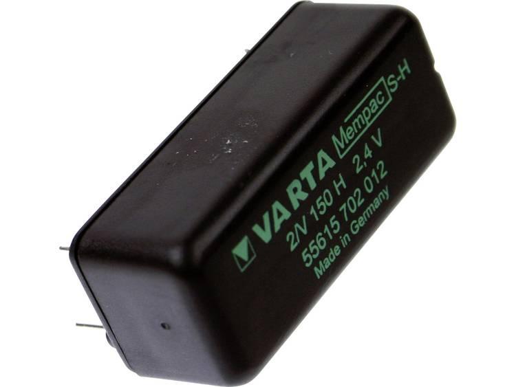 Varta Mempac 2/V150H Oplaadbare knoopcel Mempec NiMH 150 mAh 2.4 V 1 stuk(s)