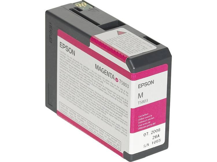 Epson Inkt T5803 Origineel Magenta C13T580300