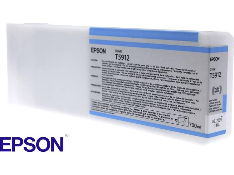 Epson Inkt T5912 Origineel Cyaan C13T591200