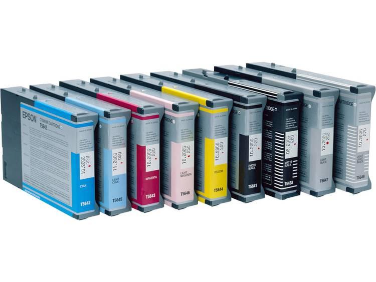 Epson Inkt T6055 Origineel Lichtcyaan C13T605500