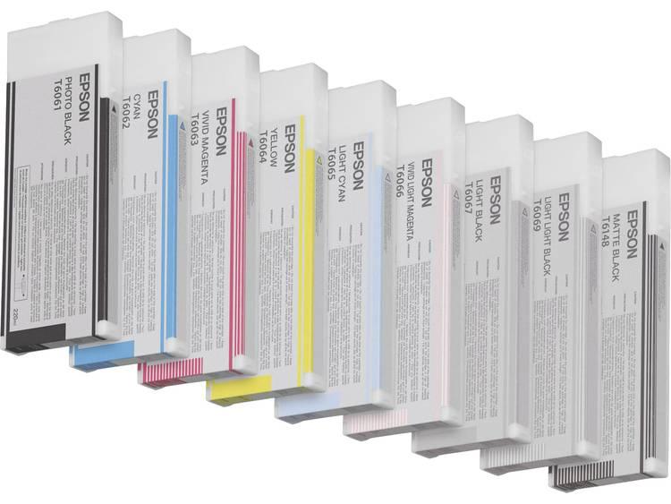 Epson Inkt T6066 Origineel Vivid Light Magenta C13T606600