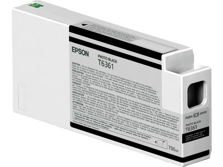 Epson Inkt T6361 Origineel Foto zwart C13T636100