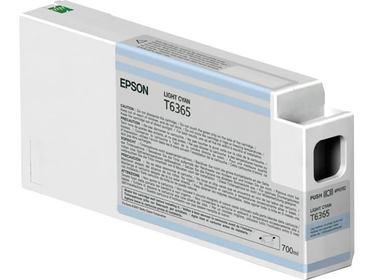 Epson Inkt T6365 Origineel Lichtcyaan C13T636500