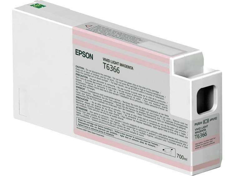 Epson Inkt T6366 Origineel Vivid Light Magenta C13T636600