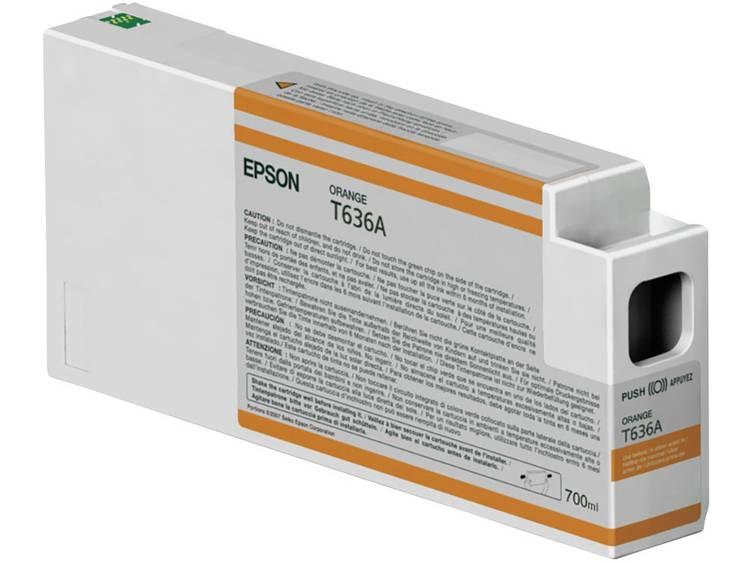 Epson Inkt T636A Origineel Oranje C13T636A00