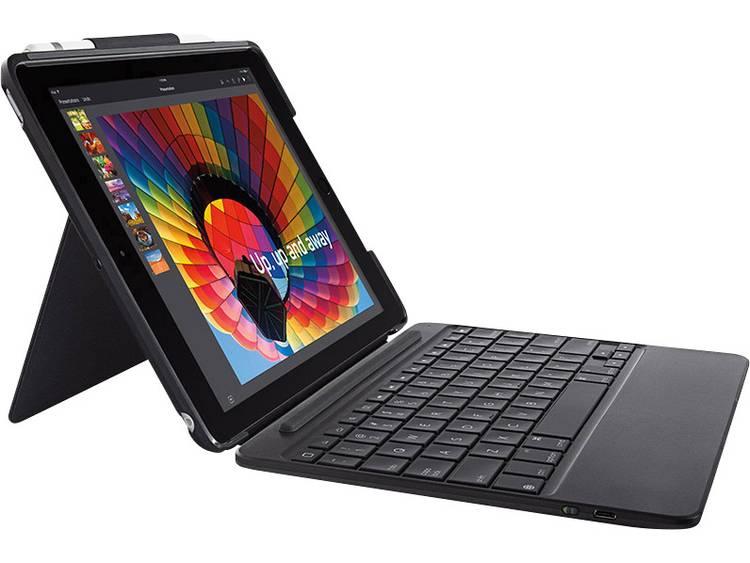 Tablet toetsenbord met BookCover Logitech SLIM COMBO Geschikt voor merk: Apple iPad 9.7 (maart 2017)