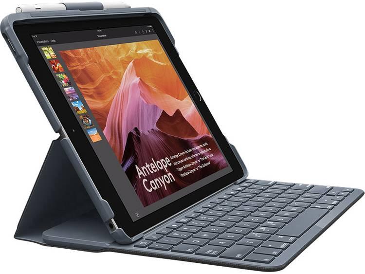 Logitech Slim Folio Tablet toetsenbord met BookCover Geschikt voor merk: Apple iPad 9.7 (maart 2017), iPad 9.7 (maart 2018)