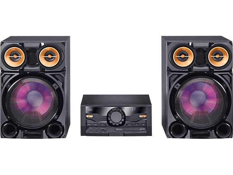 Mac Audio MPS 801 Stereoset AUX, DAB+, CD, Bluetooth, FM, USB Zwart