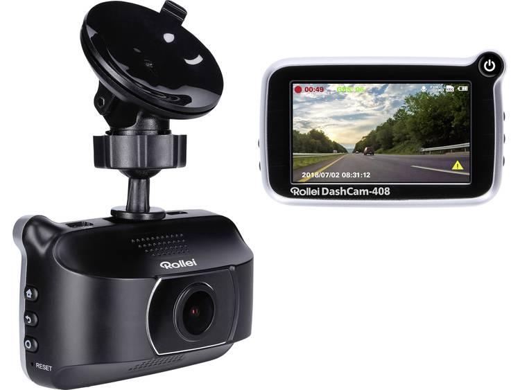Rollei CarDVR 408 Dashcam met GPS Display, Microfoon