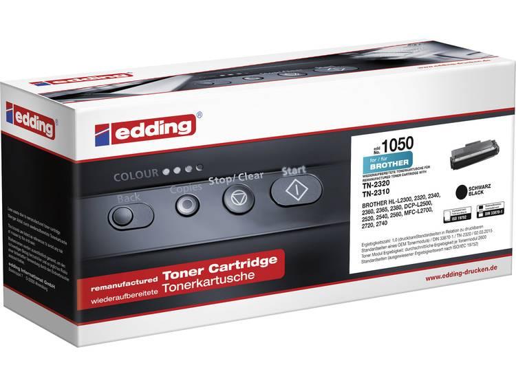 Edding Tonercassette vervangt Brother TN 2320 Compatibel Zwart 2600 bladzijden e