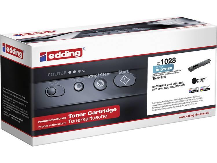 Edding Tonercassette vervangt Brother TN 241BK Compatibel Zwart 2500 bladzijden