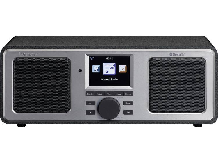 Lenco DIR-150 Zakradio met internetradio FM AUX, Bluetooth, USB, WiFi, Internetr