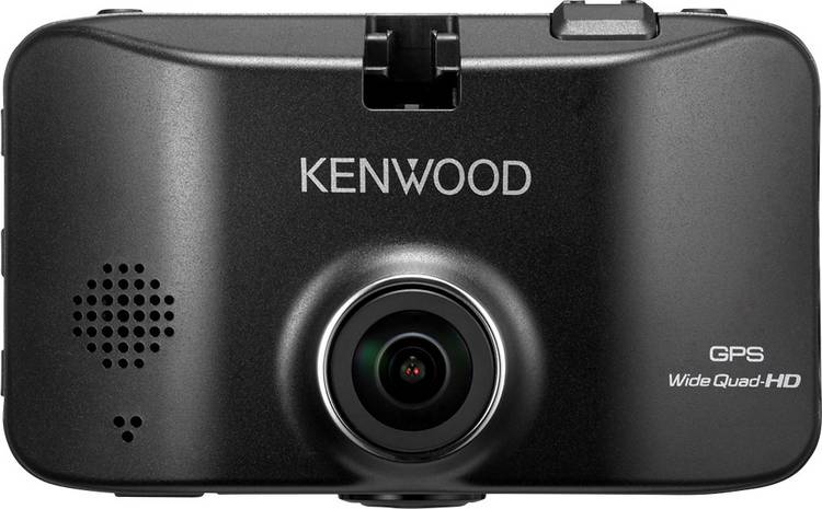 Kenwood DRV830 Dashcam met GPS Kijkhoek horizontaal (max.): 132  Display