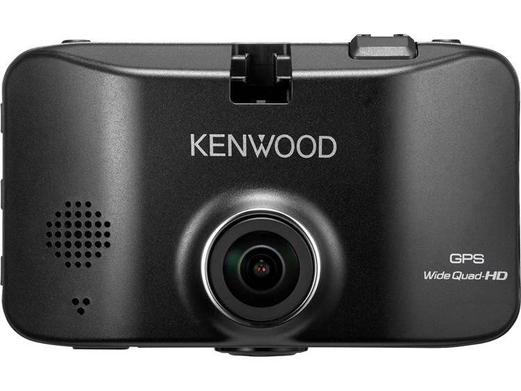 Kenwood DRV830 Dashcam met GPS Kijkhoek horizontaal (max.) 132 ° Display