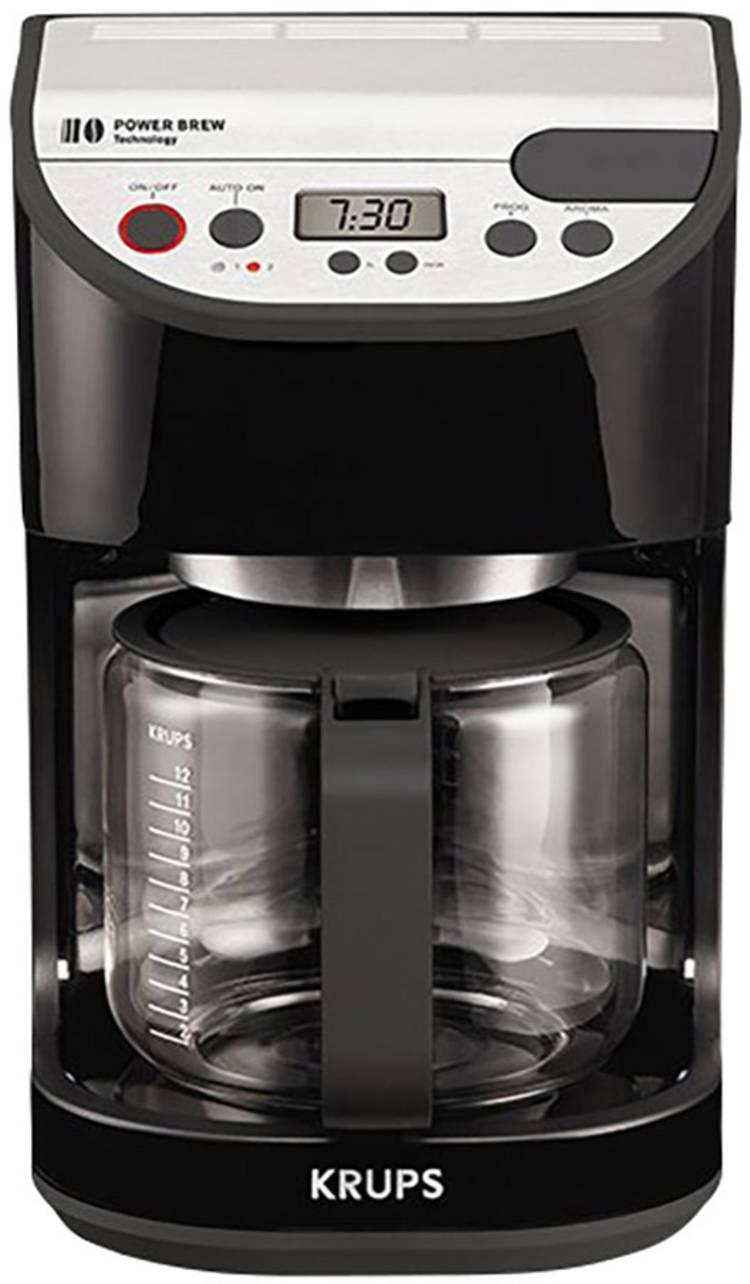 Image of Koffiezetapparaat Krups KM505510 Zwart Capaciteit koppen=12 Display