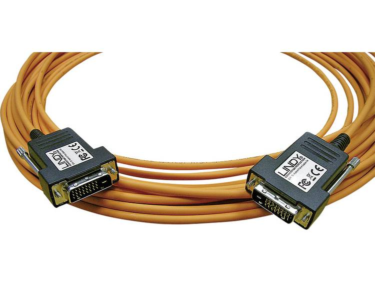Lindy DVI Hybridkabel, tot 1920x1200, 50m DVI-D St-St. Opt. (38373)