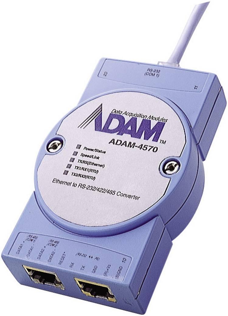 Advantech ADAM-4570-BE Interfaceconverter RS-232, RS-422, RS-485 Aantal uitgangen: 2 x 12 V/DC, 24 V/DC