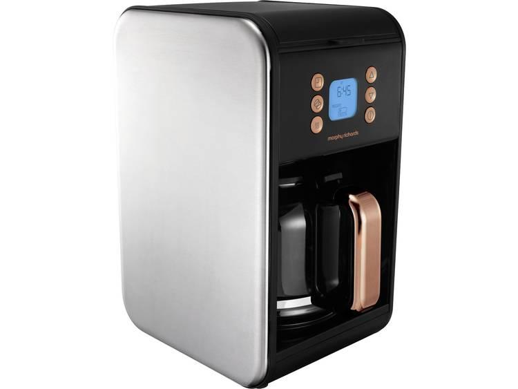 Accents Koffiezetapparaat Zwart, Rose gold Capaciteit koppen: 12 Glazen kan, Warmhoudfunctie, Timerfunctie