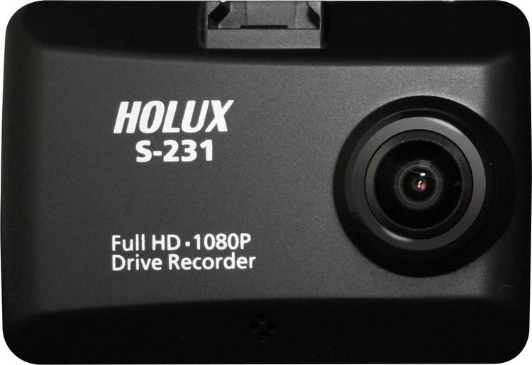 Holux S-231 Super Night Vision DVR Dashcam met GPS Microfoon. Display