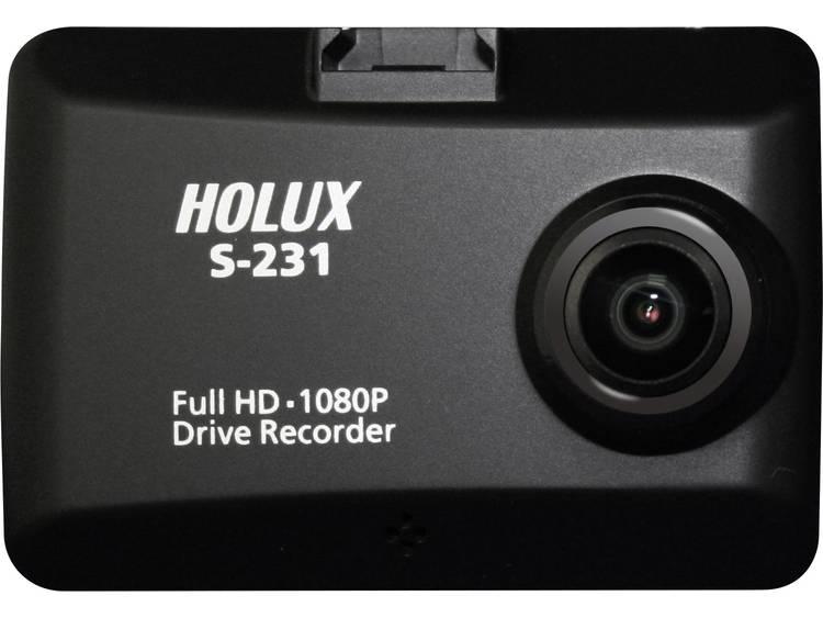 Holux S 231 Super Night Vision DVR Dashcam met GPS Microfoon, Display