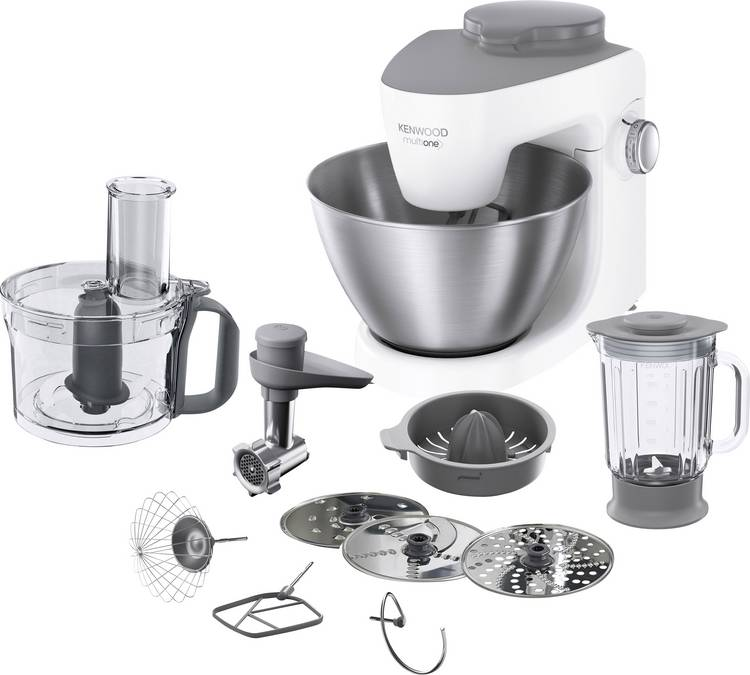Kenwood Home Appliance KHH323 WH Foodprocessor 1000 W Wit. RVS