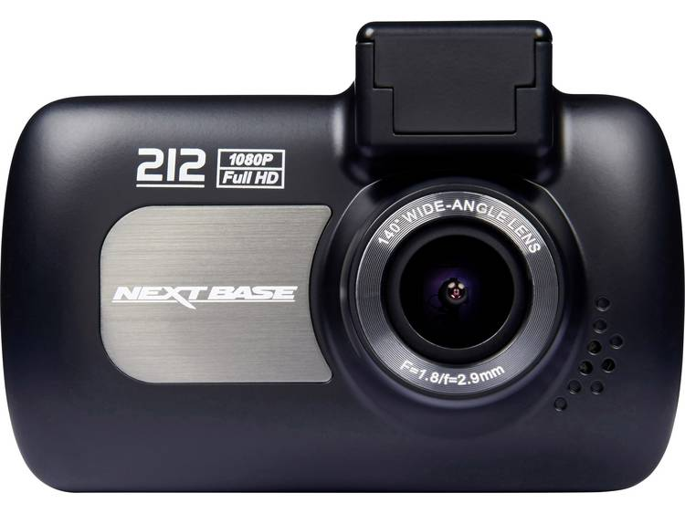 NextBase 212G Dashcam met GPS Kijkhoek horizontaal (max.) 140 ° Display