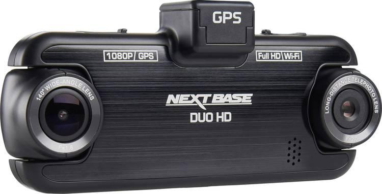 Image of NextBase Duo HD Dashcam met GPS Kijkhoek horizontaal (max.): 140  Display