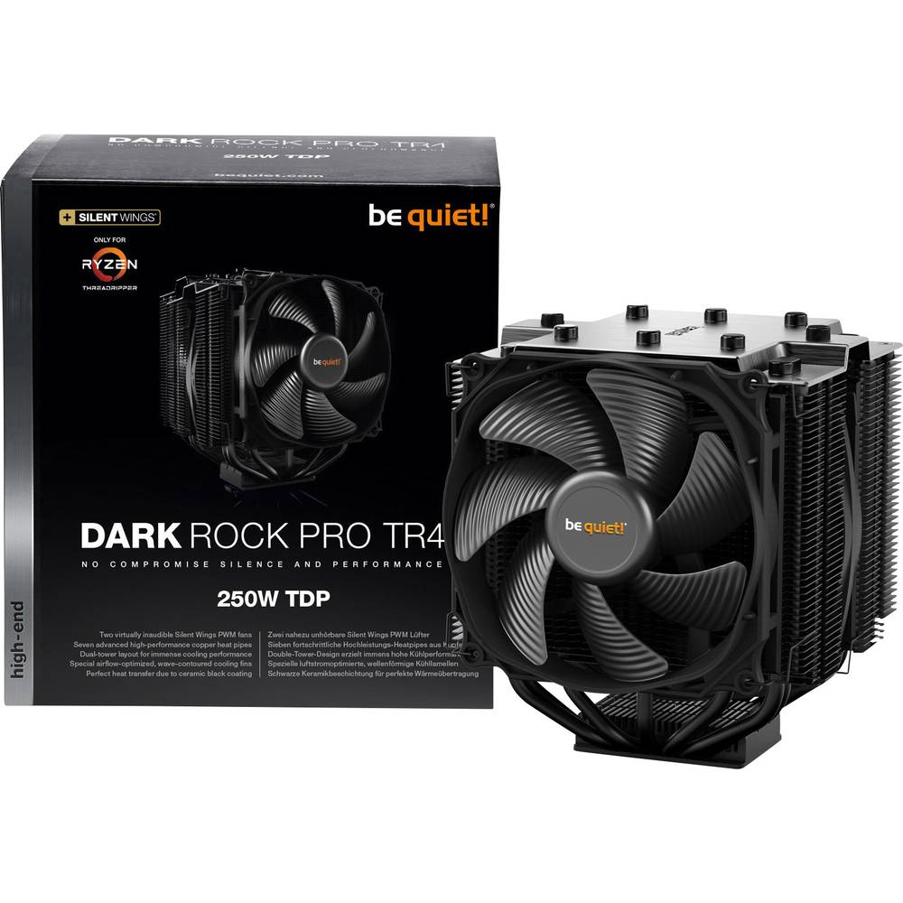 BeQuiet Dark Rock Pro TR4 CPU-kylare fläkt
