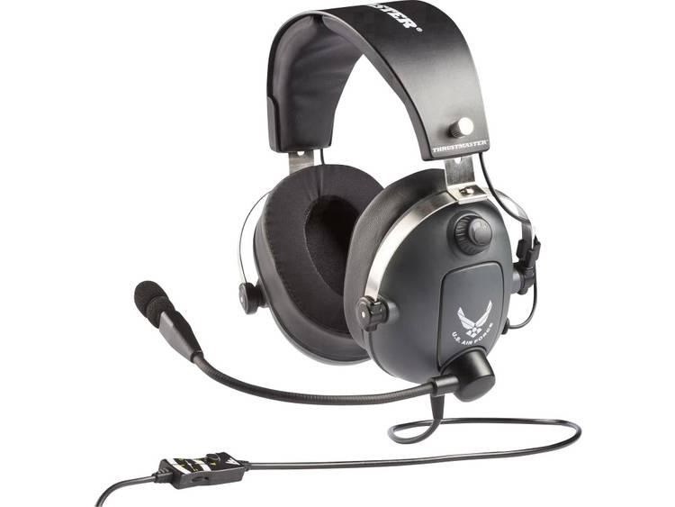 Thrustmaster Gaming headset 3.5 mm jackplug Kabelgebonden Over Ear Grijs, Metallic