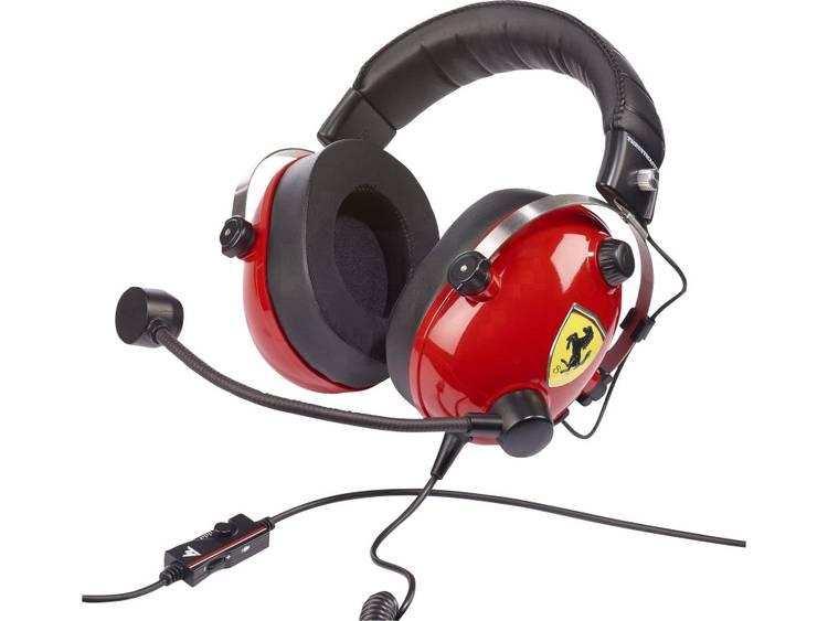 Thrustmaster T.Racing Scuderia Ferrari EDITION Gaming headset 3.5 mm jackplug Kabelgebonden Over Ear Rood