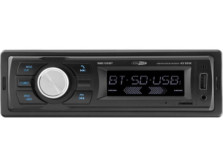 Caliber Audio Technology RMD031BT Autoradio enkel DIN Bluetooth handsfree, Incl. afstandsbediening