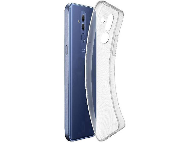 Cellularline FINECMATE20LT GSM backcover Geschikt voor model (GSMs): Huawei Mate 20 Lite Transparant