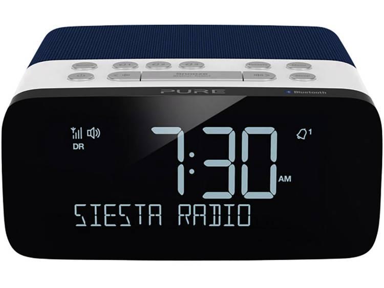 Pure Siesta Rise S FM Wekkerradio Bluetooth, FM, USB Accu laadfunctie Blauw