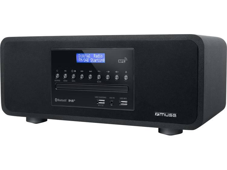 Muse M-785DAB Bluetooth speaker met DAB+-FM radio, CD-speler, en USB