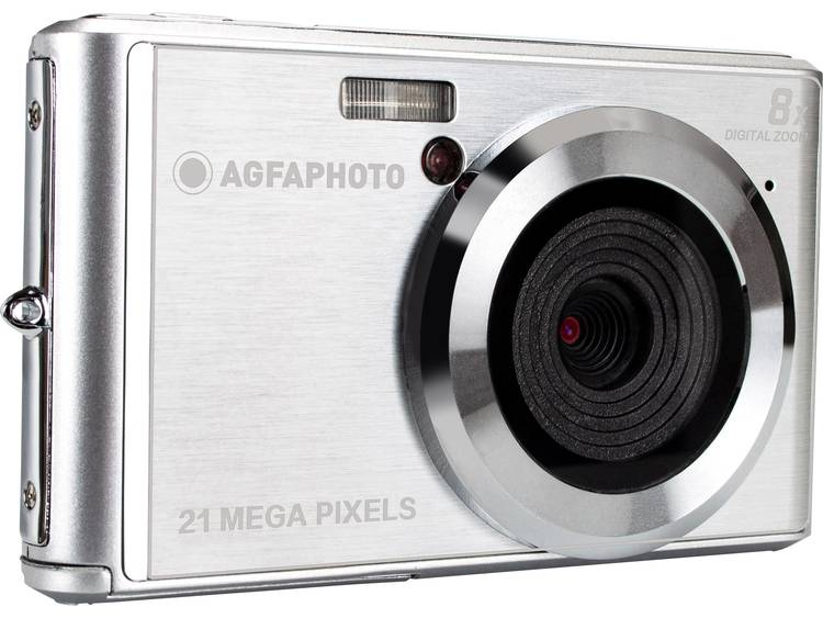 AgfaPhoto DC5200 Digitale camera 21 Mpix Zilver kopen