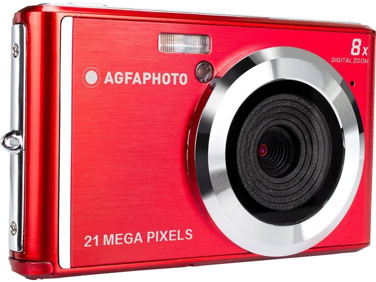 AgfaPhoto DC5200 Digitale camera 21 Mpix Rood, Zilver kopen