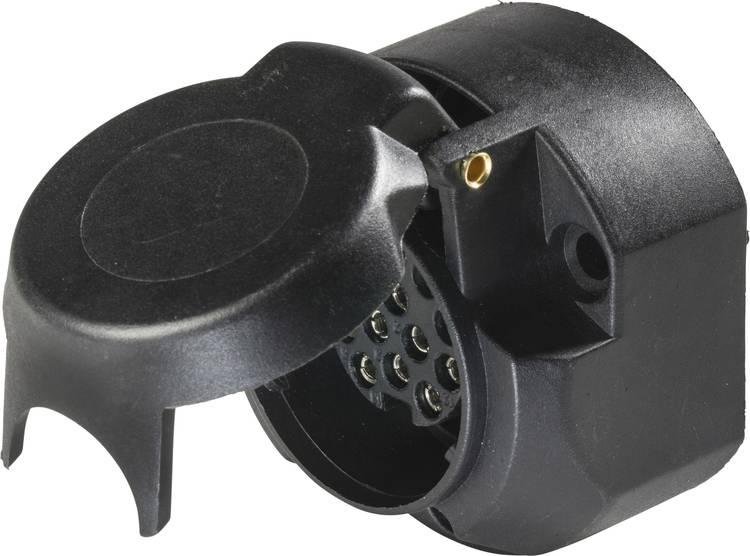 Aanhangerstopcontact [ - Stekkerdoos. 13-polig] as - Schwabe 61474