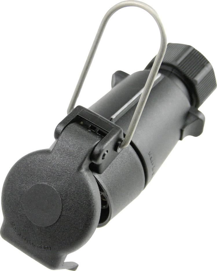Aanhangerstekker [Open kabeleinden - Stekkerdoos. 7-polig. type S] as - Schwabe 60463