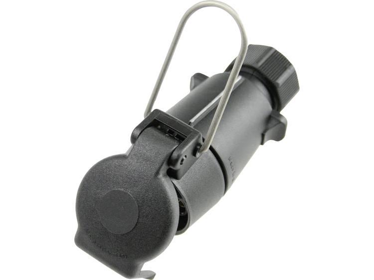 Aanhangerstekker [Open kabeleinden Stekkerdoos, 7 polig, type S] as Schwabe 60463