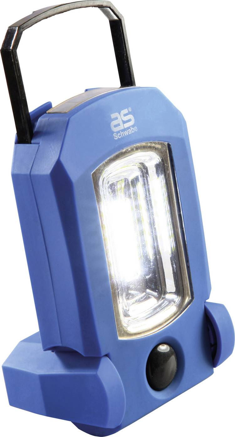 COB-LED. LED Werklamp werkt op een accu as - Schwabe 42803 EVO 1 3 W 85 lm