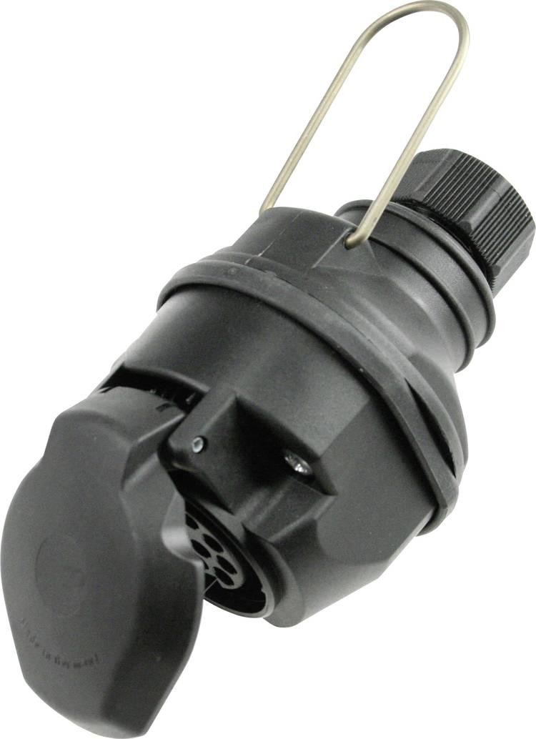 Aanhangerstekker [Open kabeleinden - Stekkerdoos. 13-polig] as - Schwabe 60466